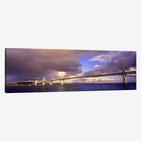 Oakland Bay Bridge San Francisco California USA Canvas Print #PIM2843} by Panoramic Images Art Print