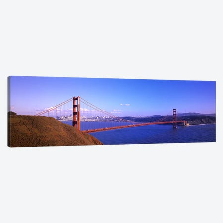 Golden Gate Bridge San Francisco CA USA Canvas Print #PIM2844} by Panoramic Images Canvas Art