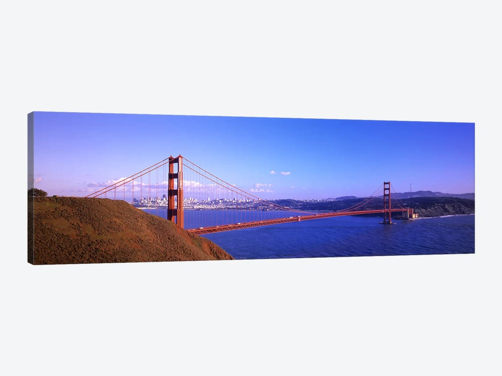 Golden Gate Bridge San Francisco CA USA by Panoramic Images 1-piece Canvas Print