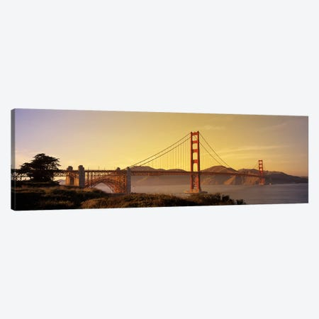 Golden Gate Bridge San Francisco CA USA Canvas Print #PIM2845} by Panoramic Images Canvas Artwork