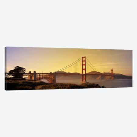 Golden Gate Bridge San Francisco CA USA Canvas Print #PIM2845} by Panoramic Images Canvas Artwork