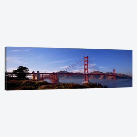 Golden Gate Bridge San Francisco California USA Canvas Print #PIM2846} by Panoramic Images Canvas Art