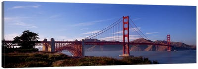 Golden Gate Bridge San Francisco California USA Canvas Print #PIM2846