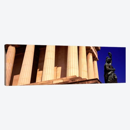 Statue Munich Germany 3-Piece Canvas #PIM2848} by Panoramic Images Art Print
