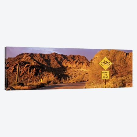 Gates Pass Road Tucson Mountain Park Arizona USA Canvas Print #PIM2854} by Panoramic Images Canvas Art Print