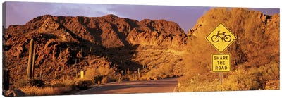 Gates Pass Road Tucson Mountain Park Arizona USA Canvas Art Print
