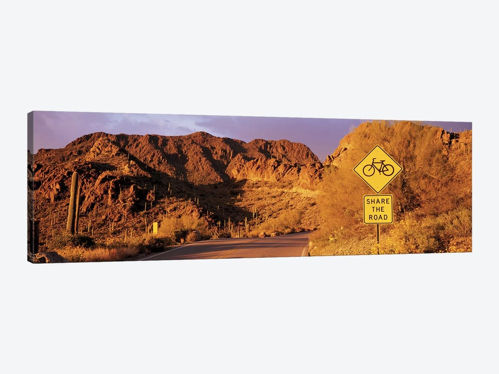 Gates Pass Road Tucson Mountain Park Arizona USA by Panoramic Images 1-piece Canvas Wall Art