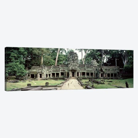 Exterior View, Preah Khan, Angkor Wat, Cambodia Canvas Print #PIM2856} by Panoramic Images Canvas Art Print