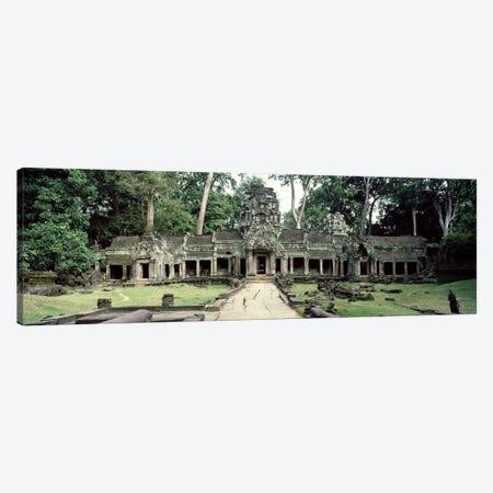 Exterior View, Preah Khan, Angkor Wat, Cambodia Canvas Print #PIM2856} by Panoramic Images Canvas Art Print