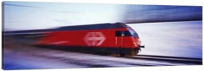 SBB Train Switzerland Canvas Print #PIM2857