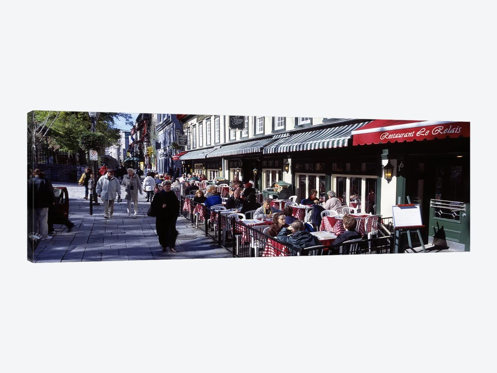Street Scene Paris France by Panoramic Images 1-piece Art Print