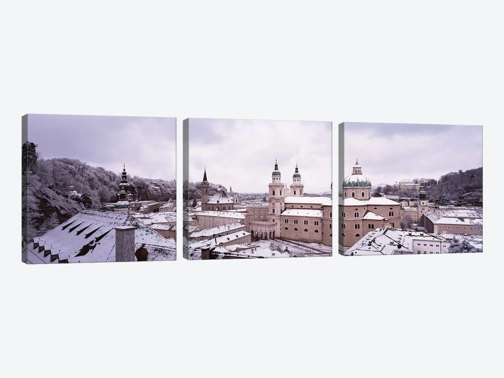 Dome Salzburg Austria by Panoramic Images 3-piece Canvas Print