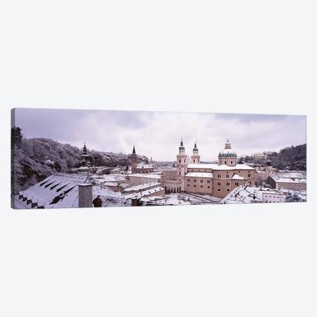 Dome Salzburg Austria 3-Piece Canvas #PIM2875} by Panoramic Images Canvas Print