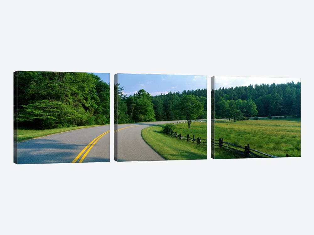 Blue Ridge Parkway NC by Panoramic Images 3-piece Canvas Artwork