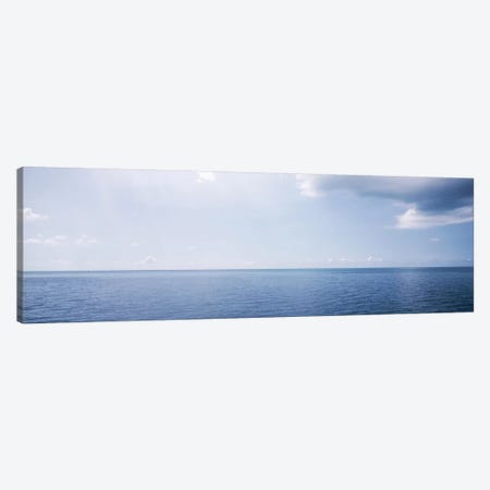 Cloudy Seascape, Atlantic Ocean, Bermuda, USA Canvas Print #PIM2887} by Panoramic Images Canvas Artwork
