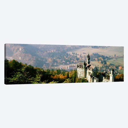 Neuschwanstein Castle Schwangau Bavaria Germany Canvas Print #PIM2889} by Panoramic Images Art Print