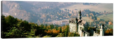 Neuschwanstein Castle Schwangau Bavaria Germany Canvas Print #PIM2889