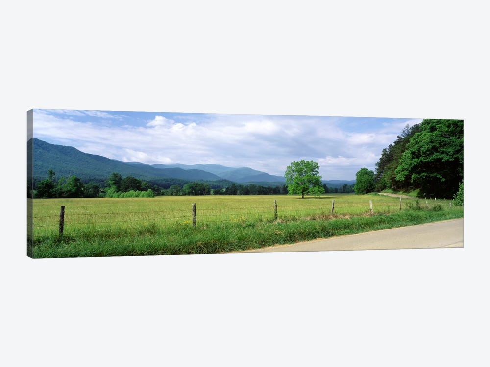 Valley Landscape, Cades Cove, Great Smoky Mountains National Park, Tennessee, USA by Panoramic Images 1-piece Canvas Art Print