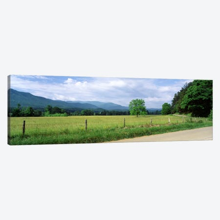 Valley Landscape, Cades Cove, Great Smoky Mountains National Park, Tennessee, USA Canvas Print #PIM288} by Panoramic Images Canvas Art