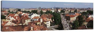 Charles Bridge Prague Czechoslovakia Canvas Print #PIM2899