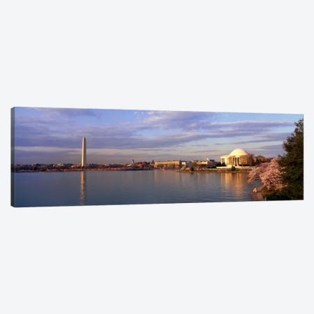 USA, Washington DC, Tidal Basin, spring Canvas Print #PIM28} by Panoramic Images Canvas Wall Art