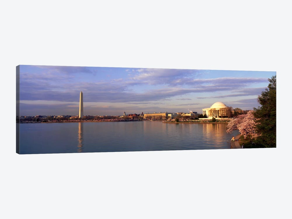 USA, Washington DC, Tidal Basin, spring by Panoramic Images 1-piece Canvas Artwork