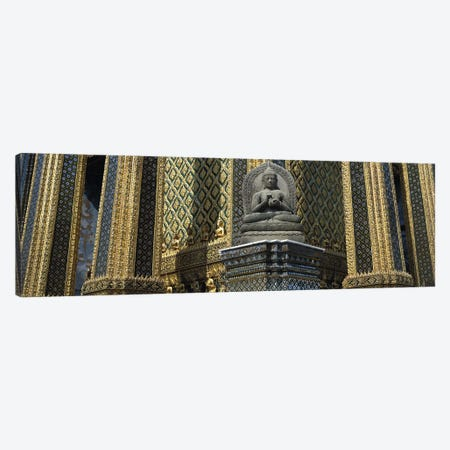 Emerald Buddha, Wat Phra Keo, Bangkok, Thailand Canvas Print #PIM2900} by Panoramic Images Canvas Art