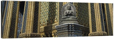 Emerald Buddha, Wat Phra Keo, Bangkok, Thailand Canvas Print #PIM2900
