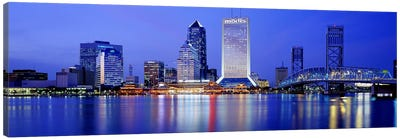 Night, Jacksonville, Florida, USA Canvas Print #PIM2901