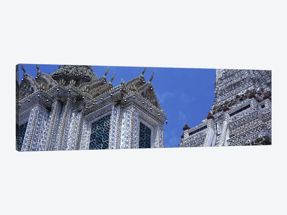Detail Wat Arun Bangkok Thailand by Panoramic Images 1-piece Canvas Art