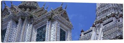 Detail Wat Arun Bangkok Thailand Canvas Art Print