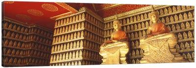 Buddhas Wat Xien Thong Luang Prabang Laos Canvas Print #PIM2903
