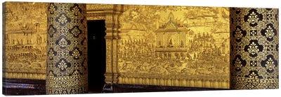 Wat Mai Luang Prabang Laos Canvas Print #PIM2905