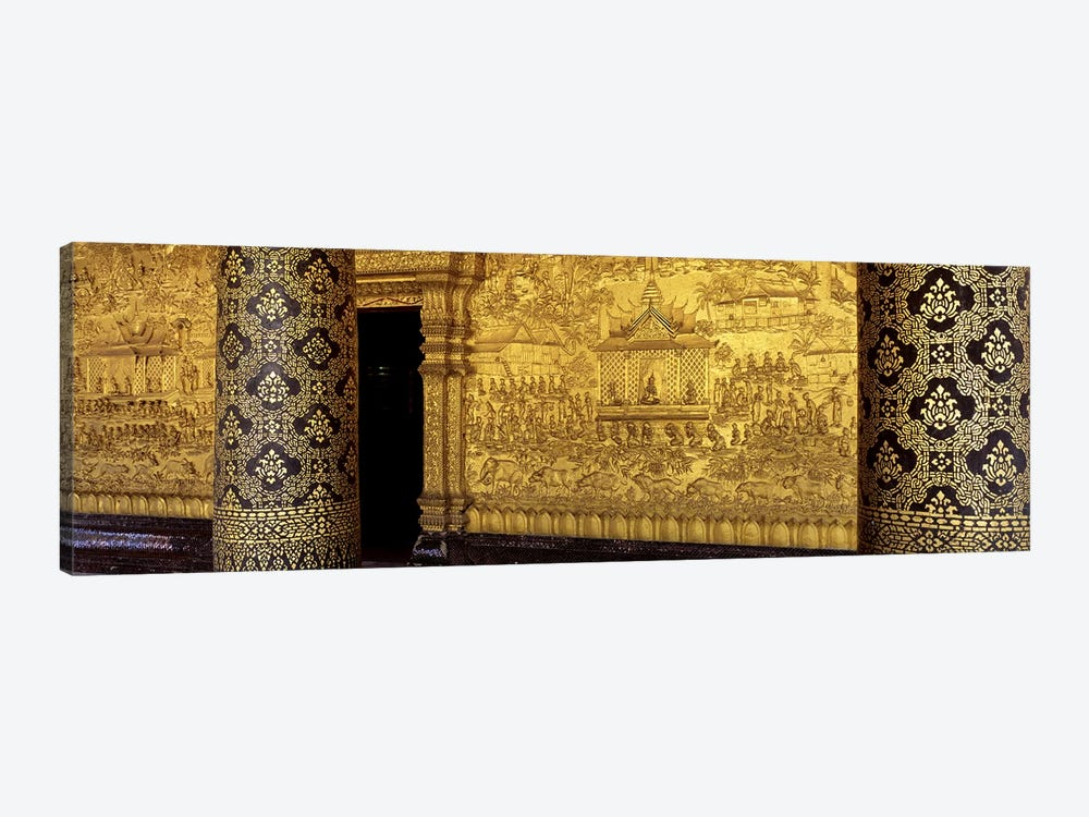 Wat Mai Luang Prabang Laos by Panoramic Images 1-piece Canvas Print