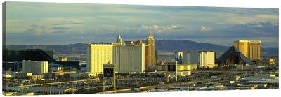 Afternoon The Strip Las Vegas NV USA Canvas Print #PIM2907