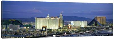 Dusk The Strip Las Vegas NV Canvas Print #PIM2908