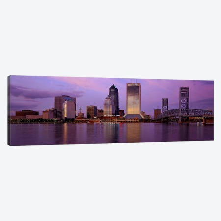 Jacksonville FL Canvas Print #PIM2911} by Panoramic Images Canvas Art Print