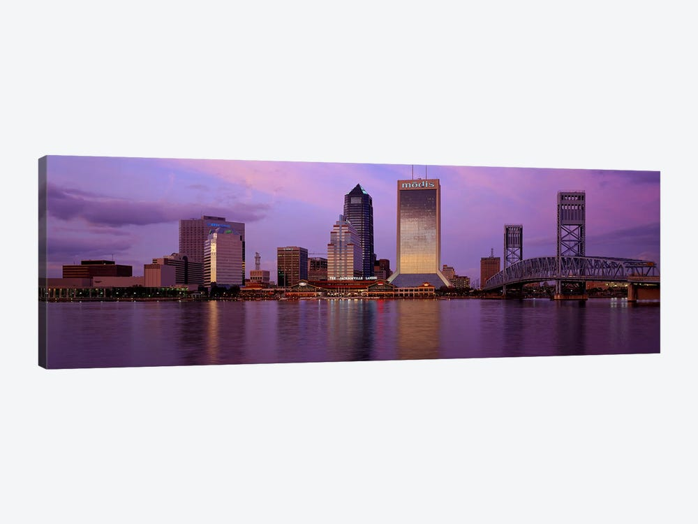 Jacksonville FL 1-piece Canvas Artwork