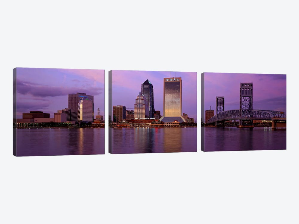 Jacksonville FL by Panoramic Images 3-piece Canvas Artwork