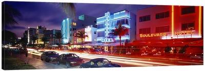 Ocean DriveMiami Beach, Miami, Florida, USA Canvas Print #PIM2917