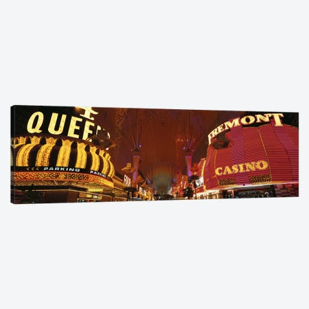 Fremont Street Experience Las Vegas NV USA #4 Canvas Print #PIM2918} by Panoramic Images Canvas Print