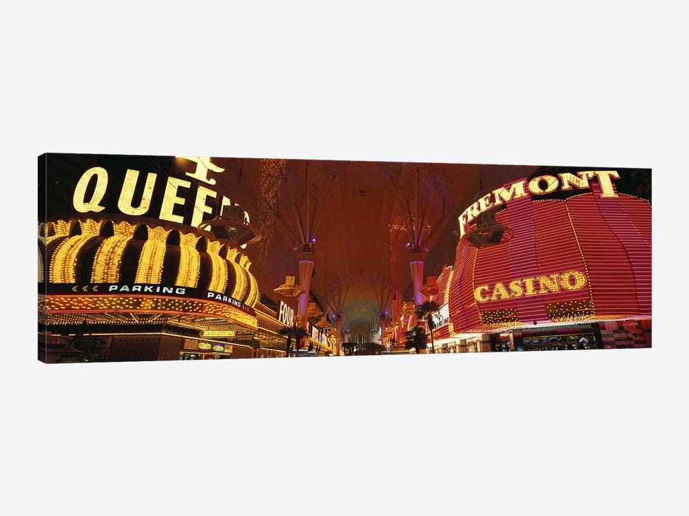Fremont Street Experience Las Vegas NV USA #4 by Panoramic Images 1-piece Canvas Print
