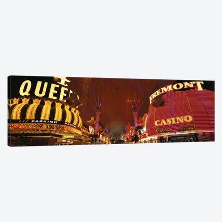 Fremont Street Experience Las Vegas NV USA #4 Canvas Print #PIM2918} by Panoramic Images Canvas Print