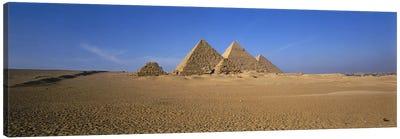The Great Pyramids Giza Egypt Canvas Art Print