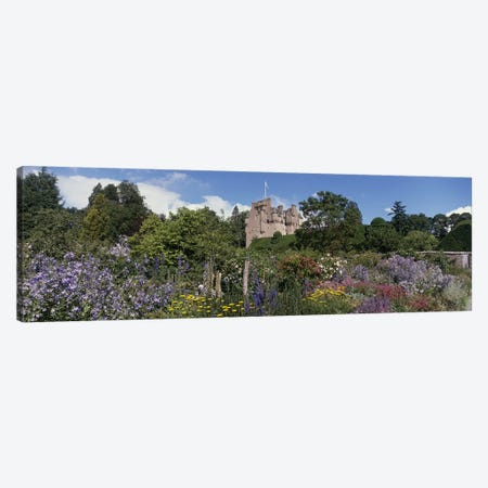 Crathes Castle Scotland Canvas Print #PIM2924} by Panoramic Images Canvas Print