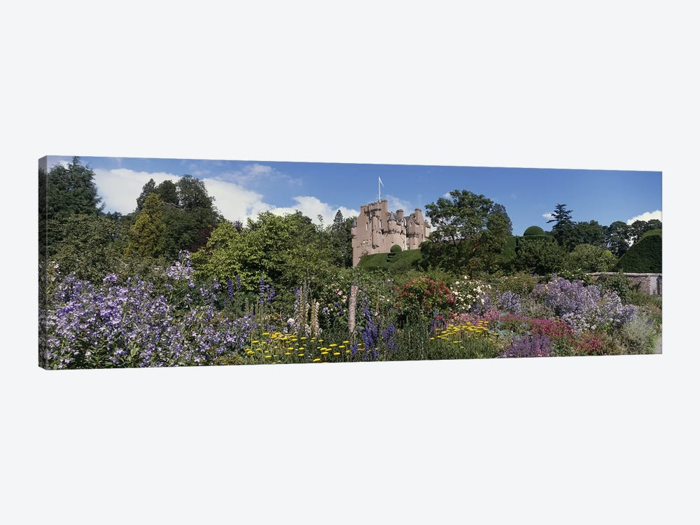 Crathes Castle Scotland by Panoramic Images 1-piece Canvas Artwork