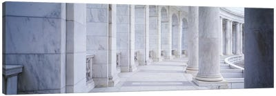 Columns of a government building, Arlington, Arlington County, Virginia, USA Canvas Art Print