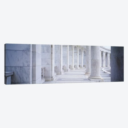 Columns of a government building, Arlington, Arlington County, Virginia, USA Canvas Print #PIM2926} by Panoramic Images Canvas Print