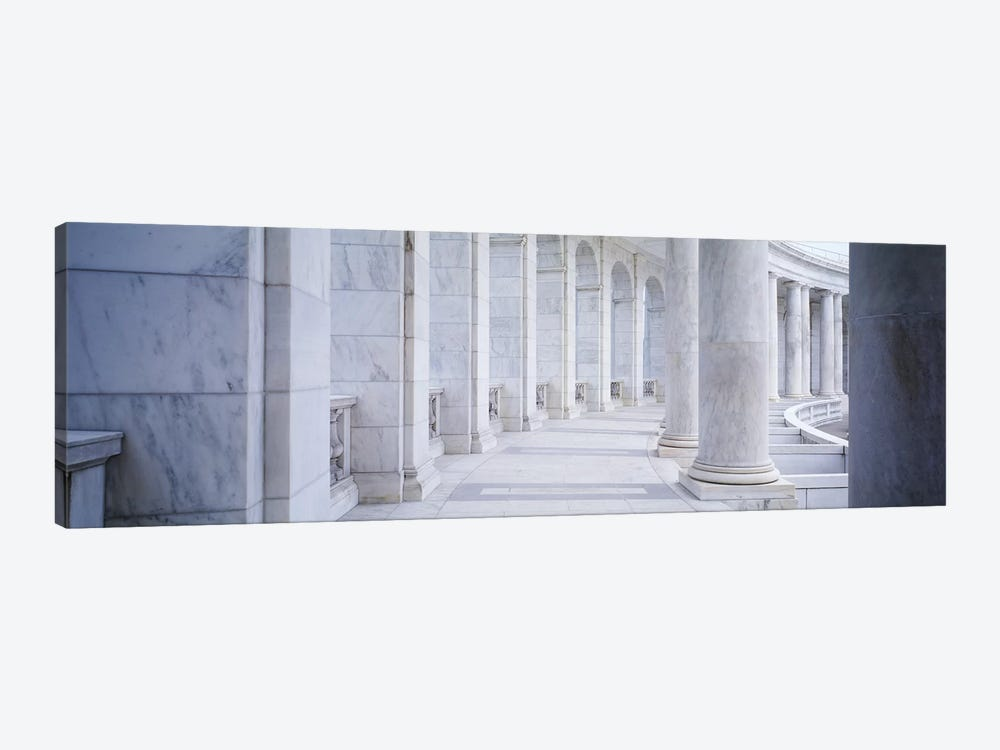 Columns of a government building, Arlington, Arlington County, Virginia, USA by Panoramic Images 1-piece Canvas Art