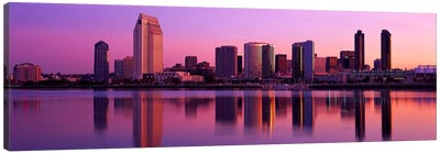USA, California, San Diego, twiilight Canvas Print #PIM2928